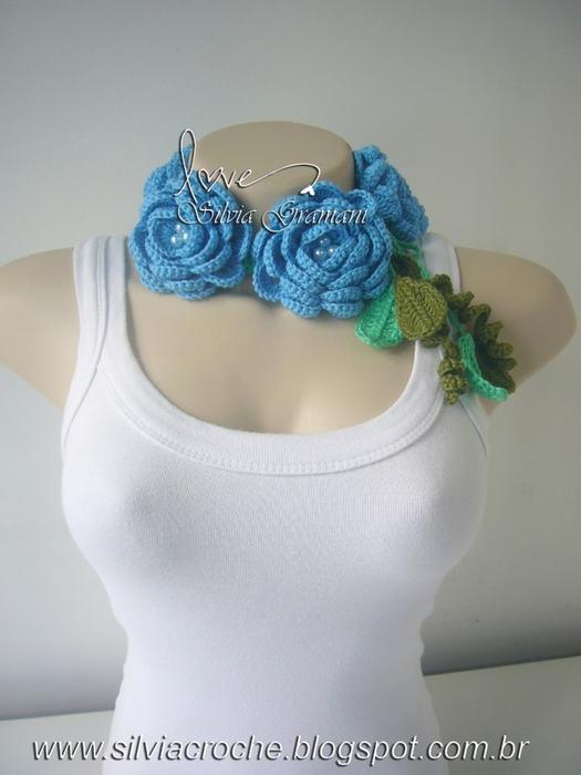 Silvia Gramani cordão de azul de rosas (525x700, 210Kb)