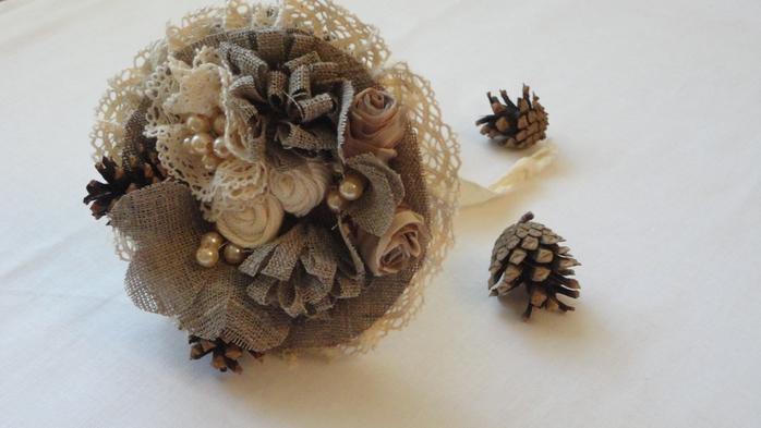 Зимние букеты своими руками из природного