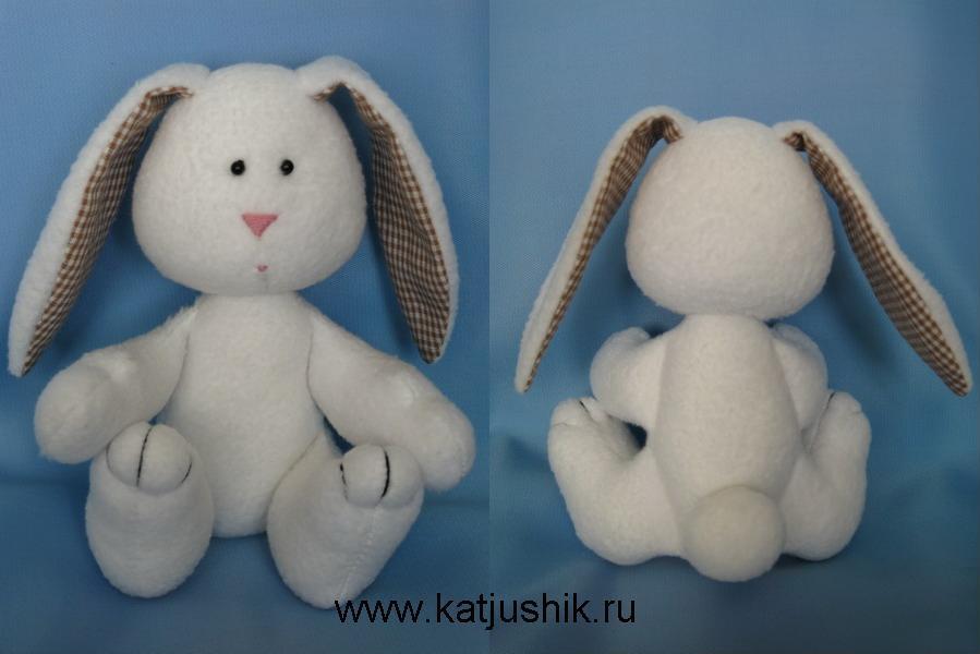 Игрушка зайца своими руками