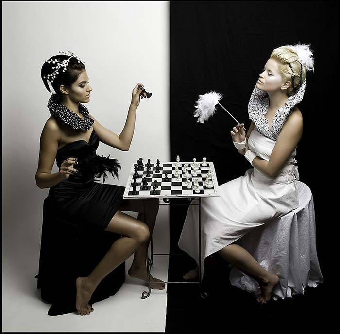 Черное и белое 11 фотография