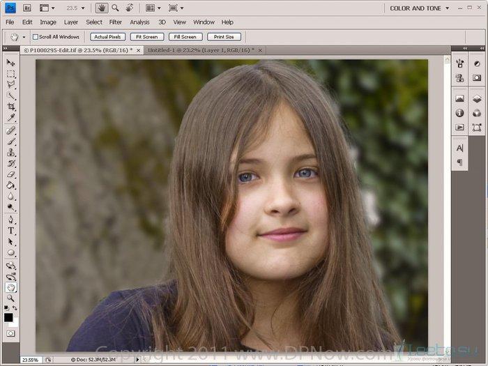 Как сделать задний фон через фотошоп