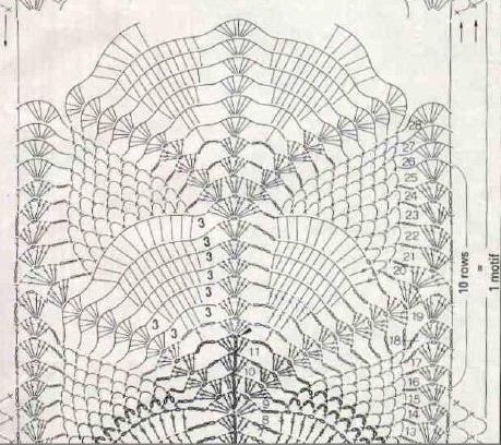 ананасовый шарфик (459x408, 206Kb)