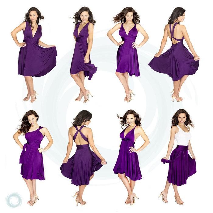 Это платье легко превращается