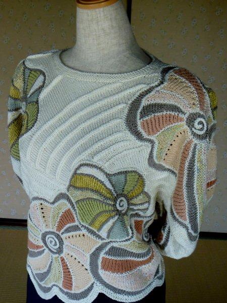 Вязания спицами фриформ