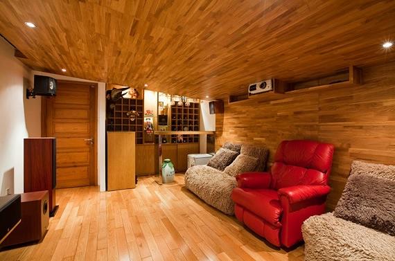 дерево в интерьере квартиры фото 8 (570x377, 159Kb)