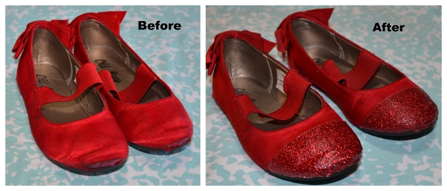 Как отремонтировать носы детской обуви / Для детей