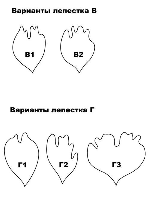 Схема яблони крестом