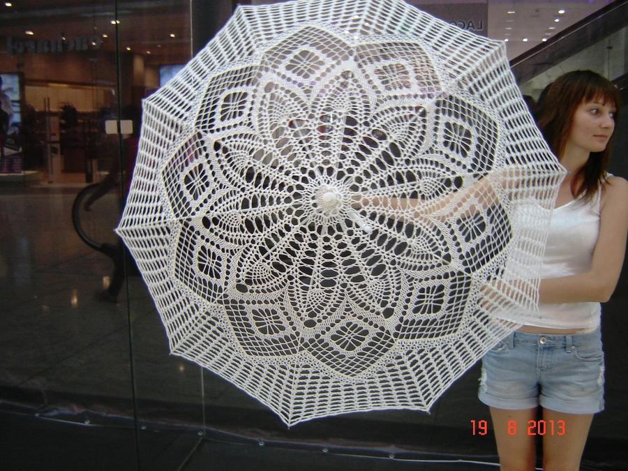 """钩针:""""变革的伞"""" - maomao - 我随心动"""