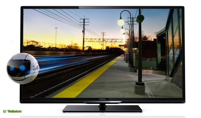 Телевизор ЖК (LED) Philips 40 (102 см) 40PFL4308T (700x413, 61Kb)