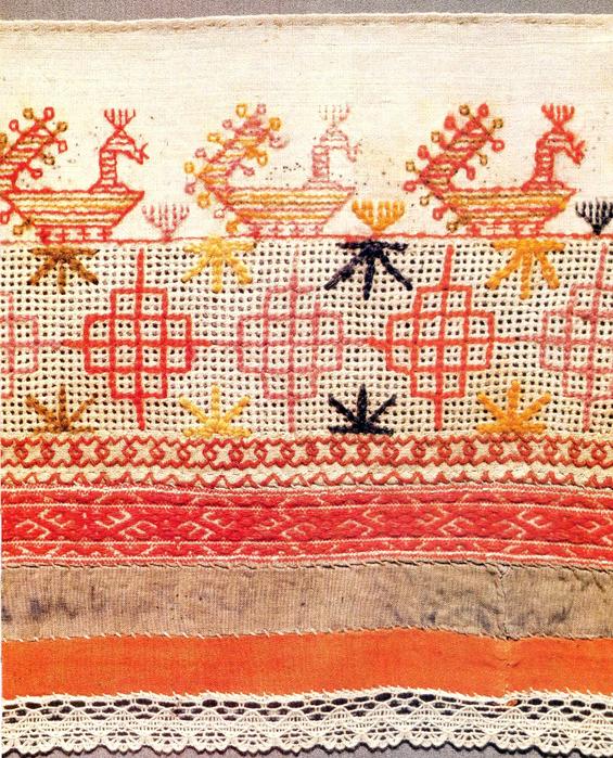 Вышивка тверской губернии