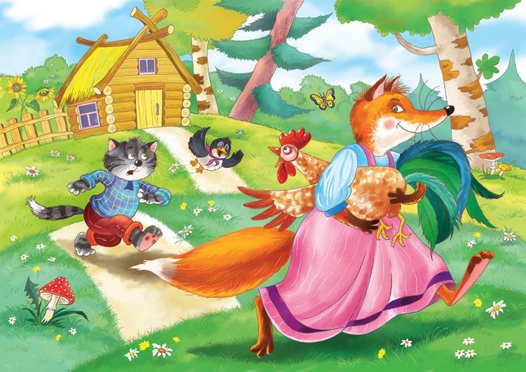 Котик и петушок (украинская народная сказка) Українська Література