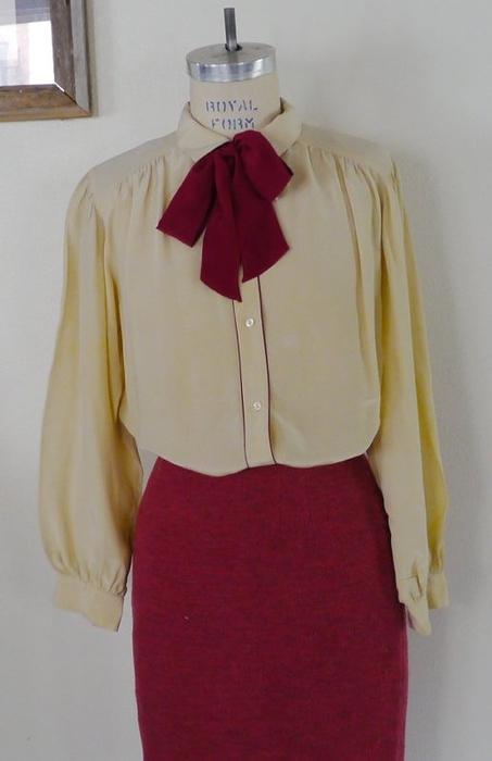 Винтажные блузки