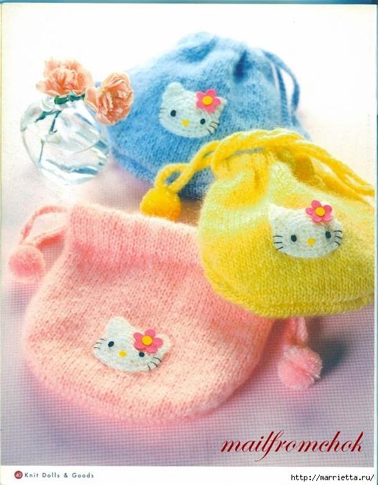 Hello Kitty! Вяжем японскую кошечку. Отличный журнал со схемами (38) (546x700, 286Kb)