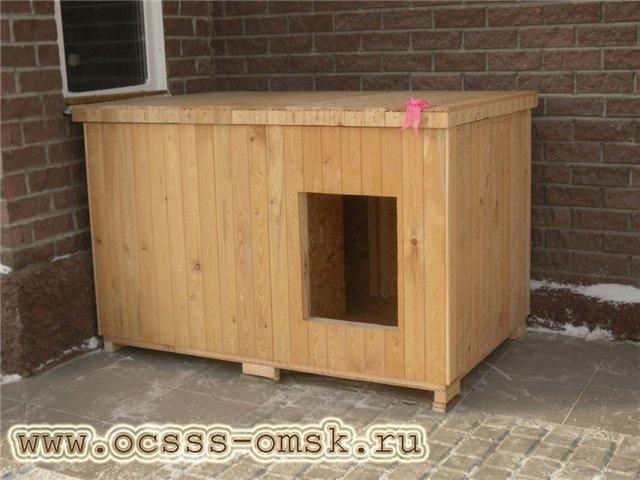 Утепленная будка для собаки