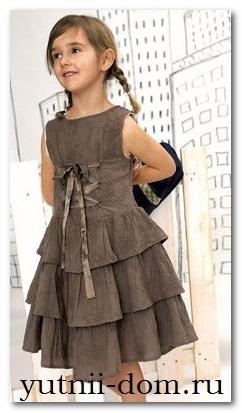 как перешить комбинезон в платье