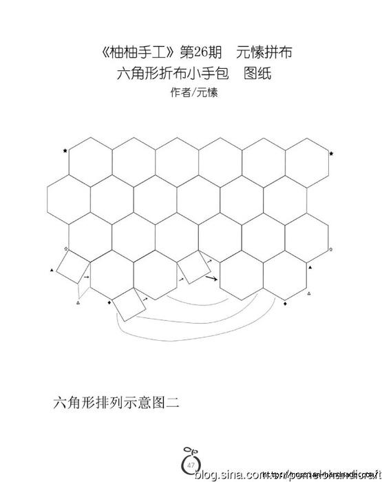 Лоскутное шитье. Летняя сумочка (1) (555x700, 80Kb)