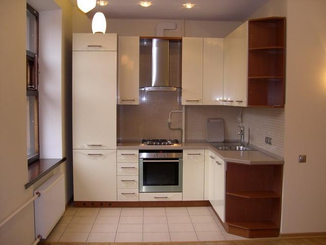 Уютная маленькая кухня фото 9