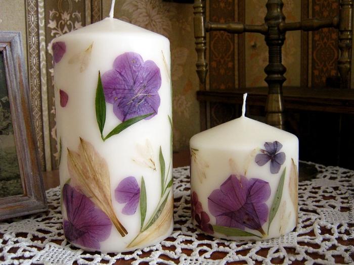 свечи с сухоцветами (1) (700x525, 289Kb)