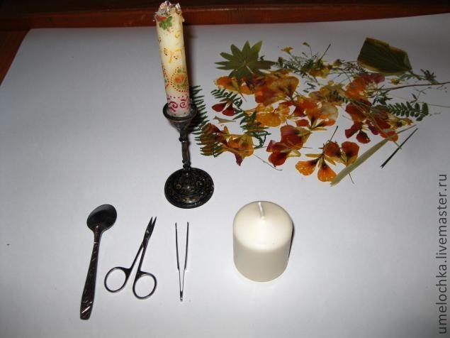 свечи с сухоцветами (3) (635x476, 103Kb)