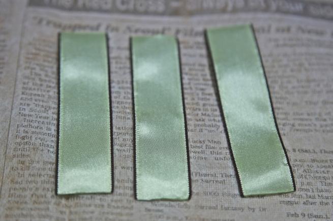 Розочка из ленточки для украшения зажима для волос. Мастер-класс (15) (655x435, 548Kb)
