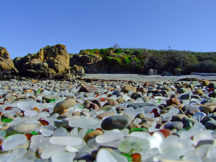 ���������� ���� � ����-�����, ����������  Glass Beach � Fort Bragg, California