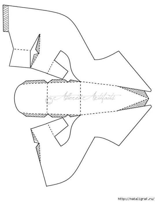 Поделка туфельки из бумаги своими руками
