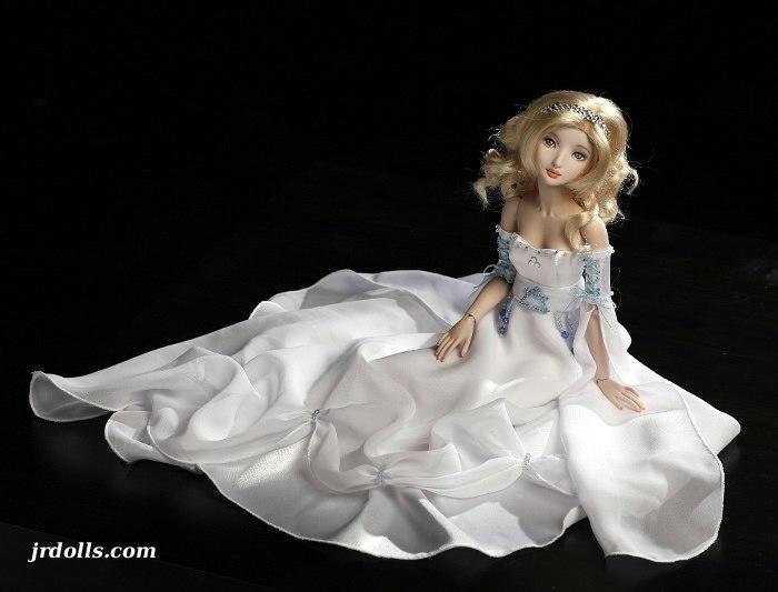 Фарфоровая куклы своими руками