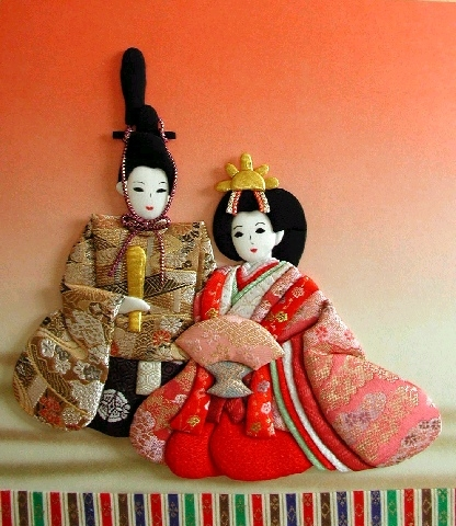 Панно с японскими куклами в технике пэчворка без иголки (16) (416x480, 191Kb)