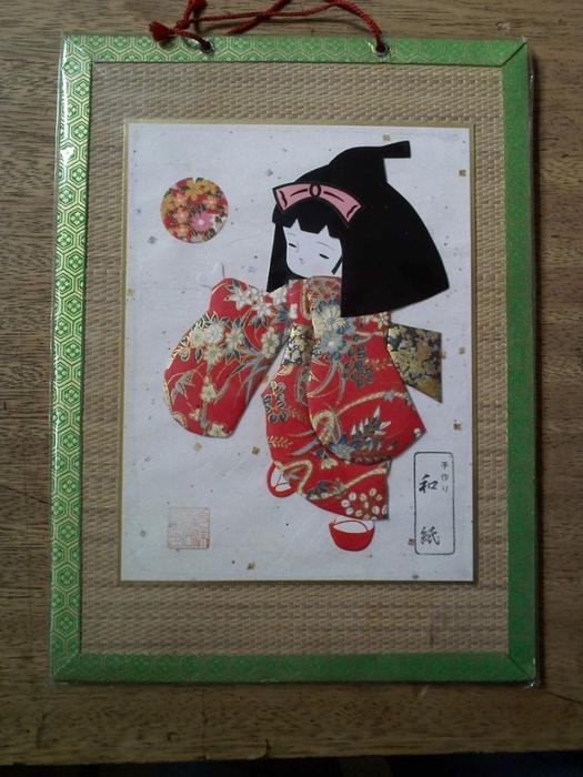 Панно с японскими куклами в технике пэчворка без иголки (20) (525x700, 291Kb)
