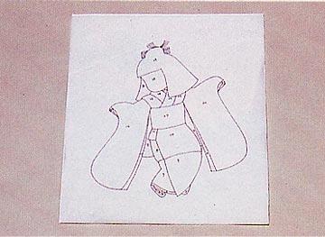 Панно с японскими куклами в технике пэчворка без иголки (23) (360x263, 55Kb)
