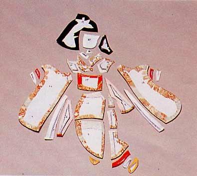 Панно с японскими куклами в технике пэчворка без иголки (28) (395x352, 72Kb)