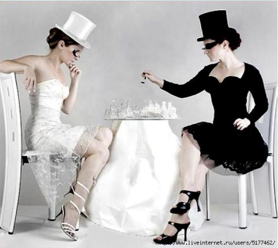 Черное и белое 7 фотография