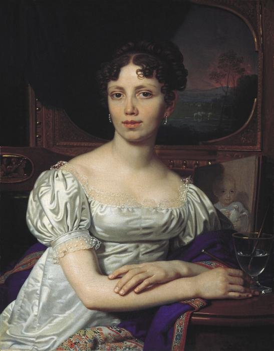 Портрет Е.В.Родзянко. 1821. Холст, масло. 81х64 см (547x700, 383Kb)