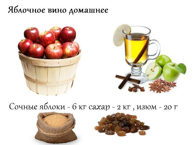Рецепт приготовления яблочного вина домашних условиях 231