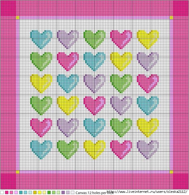 наволочка с сердечками (620x637, 384Kb)