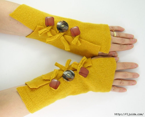 Перчатки трикотажные своими руками 17