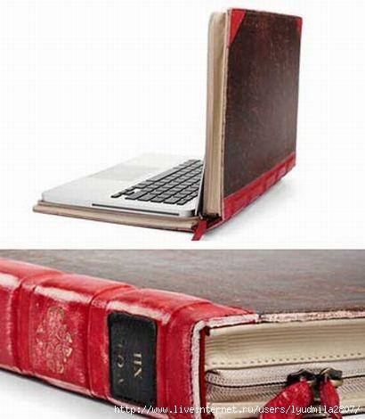Чехол для ноутбука несет не