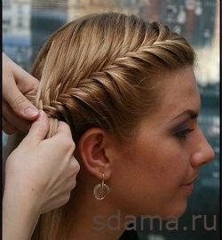 Плетения из волос онлайн