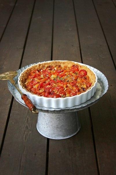 Пирог из помидоров (401x604, 51Kb)
