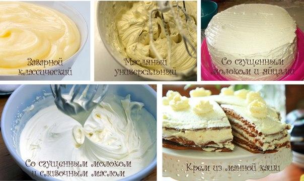 Крем масляный на торт рецепт