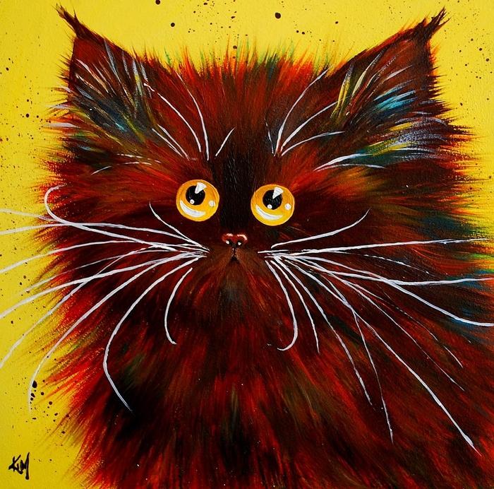 смешные коты Kim Haskins 3 (700x692, 460Kb)