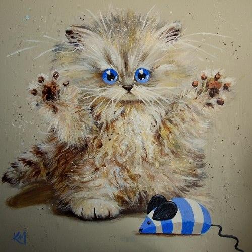 смешные коты Kim Haskins 17 (500x500, 150Kb)