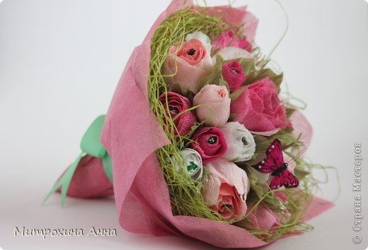 розы из конфет (5) (520x354, 78Kb)
