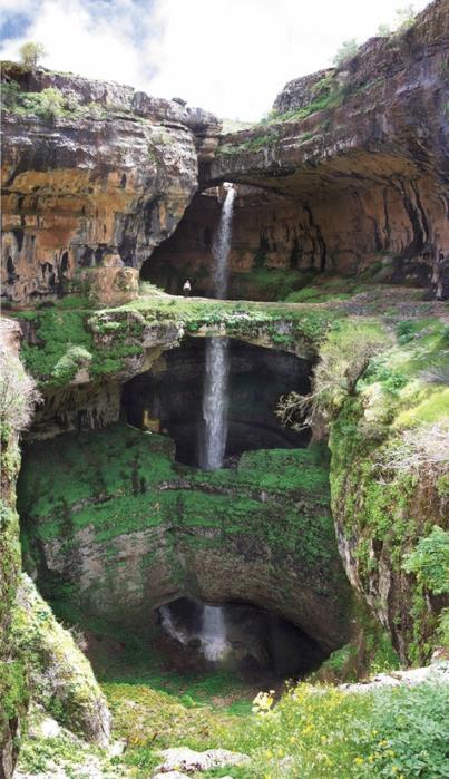 водопад баатара ливан  (403x700, 384Kb)