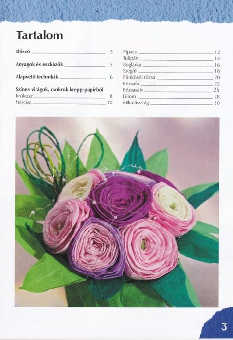 Цветы из креповой (гофрированной) бумаги - журнал (4) (479x700, 232Kb)