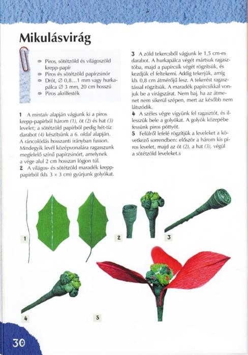 Цветы из креповой (гофрированной) бумаги - журнал (31) (488x700, 203Kb)
