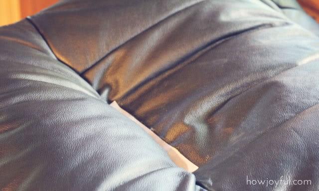 Как обтянуть кресло своими руками