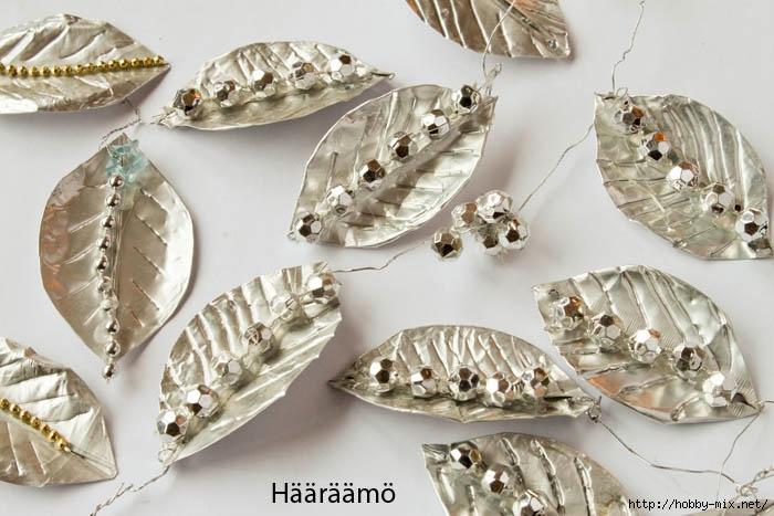 Lehdet tuikkufolioista helmikoristeet Haaraamo (700x467, 198Kb)