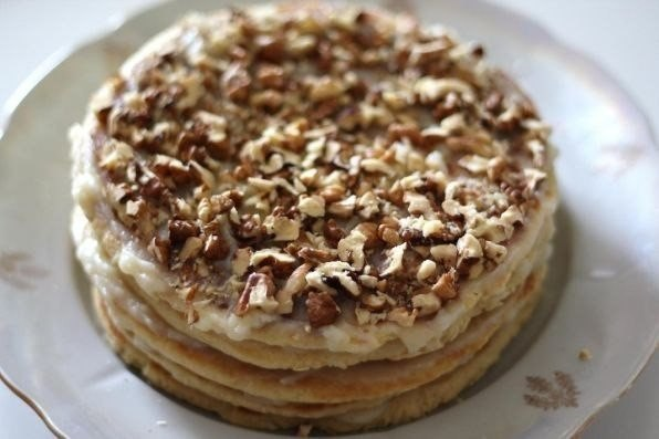 Рецепт торта рыжик на сковороде рецепт
