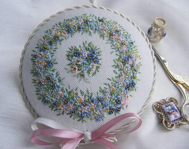 Рукоделие своими руками цветы фото 376